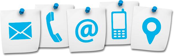 Wichtigkeit von Kontaktdaten auf der Homepage